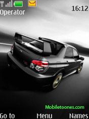 Subaru Impreza Nokia Theme Mobile Theme