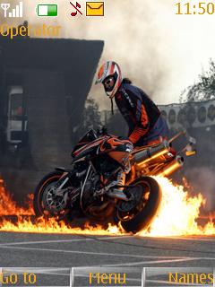 Cool Burn Theme Mobile Theme