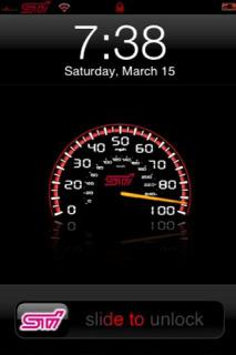 Subaru STi Theme Mobile Theme