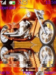 Motor Cycle Theme Mobile Theme
