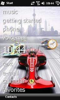 Sport Car Theme Mobile Theme