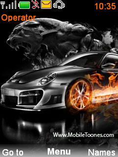 Porshe  Mobile Theme