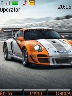 Porsche 911 Gt3 R Hybrid Mobile Theme