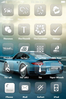 Porsche 911 Turbo Mobile Theme