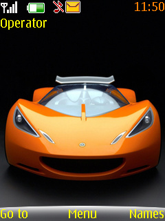 Lotus Hot Wheels Mobile Theme