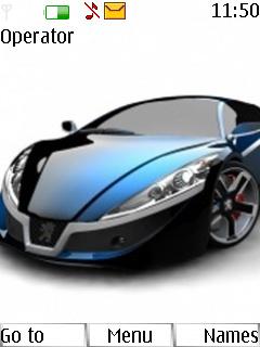 Car Mobile Theme