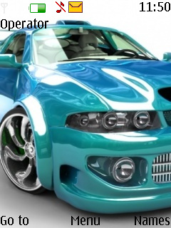 Race Car Mobile Theme