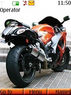 Super Bike Mobile Theme