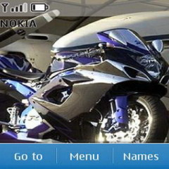 Bike Mobile Theme