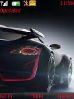 Black Car S40 Theme Mobile Theme