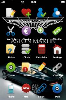 Beautiuful Car IPhone Theme Mobile Theme