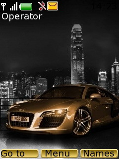 Audi Gold Mobile Theme