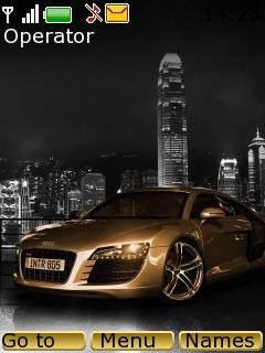 Audi Gold Mobile Theme