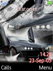 Car Theme For K800 Mobile Theme