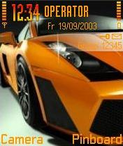 Race Car Mobile Theme