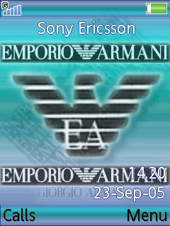 Emporio Armani Mobile Theme