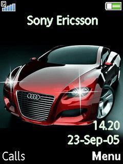 Animated Audi Locus Mobile Theme