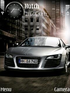 Audi R8 Mobile Theme