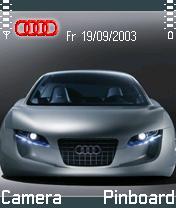 Audi RSQ Concept Car Mobile Theme