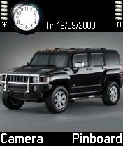 Black Hummer Mobile Theme