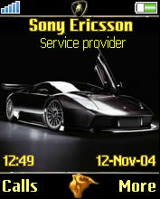 Lambor Ghini Mobile Theme