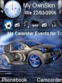 Citron Car Mobile Theme