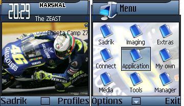 Rossi 06 Mobile Theme