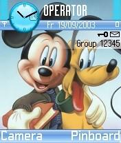 Micky Mouse Mobile Theme