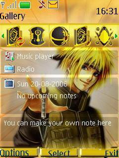 Naruto Nokia S40 Theme Mobile Theme