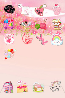 Cartoon For Girl IPhone Theme Mobile Theme