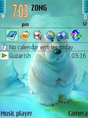 Innocent Bear Theme Mobile Theme