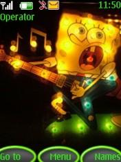Spongebob Nokia Theme Mobile Theme