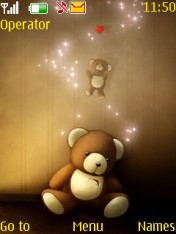 Teddy Love Nokia Theme Mobile Theme