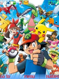Pokemon Nokia Theme Mobile Theme