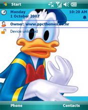 Donald Htc Theme Mobile Theme