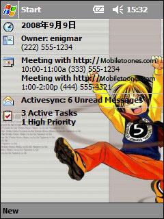 Hikaru No Go Htc Theme Mobile Theme