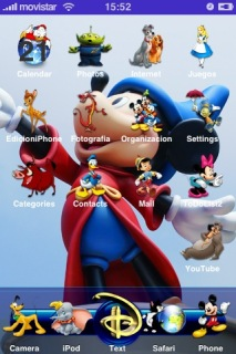 Disney Apple IPhone Theme Mobile Theme