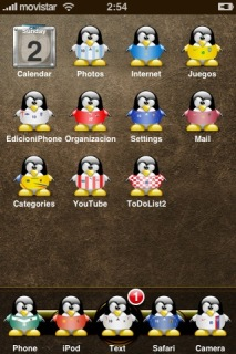 Pingu Apple IPhone Theme Mobile Theme