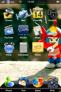New IPhone Theme Mobile Theme
