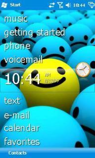 Smiley Theme Mobile Theme