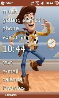 Toy Story Theme Mobile Theme