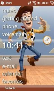 Toy Story Theme Mobile Theme