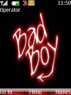 Bad Boy Theme Mobile Theme