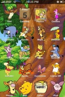 Winnie The Pooh Theme Mobile Theme