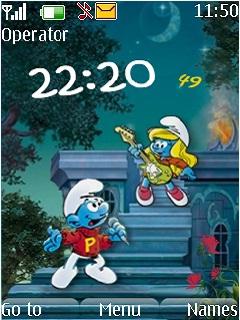 The Smurfs Mobile Theme