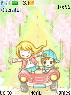 Animated Ride Mobile Theme