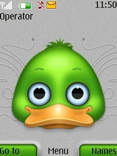 Winky Duck Mobile Theme