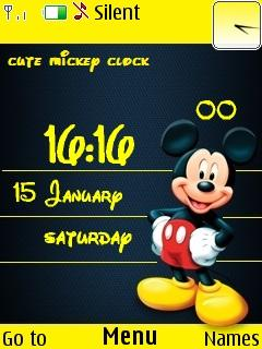 Cute Mickey Mobile Theme