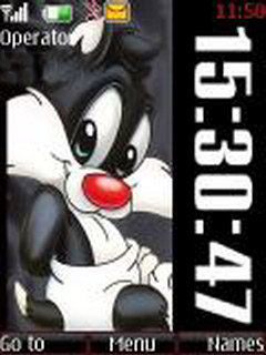 Baby Sylvester Mobile Theme