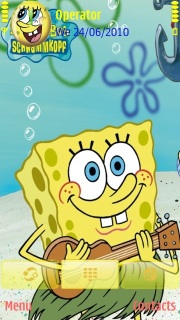 Spongbob Mobile Theme
